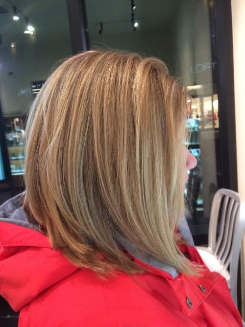 Dimensional Blonde Aveda Color Dosha Salon Spa