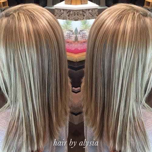 Aveda Color Blonde dimensional Dosha Salon Spa