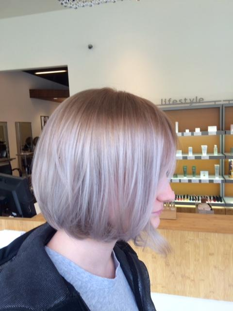 Pastel Haircut Dosha Salon Spa