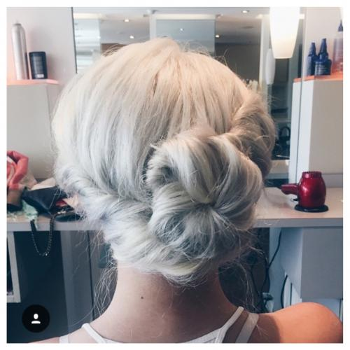 Simple Updo Dosha Salon Spa