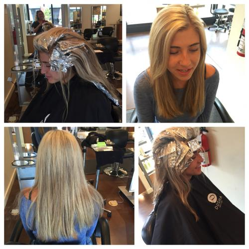 Blonde Highlights Dosha Salon Spa