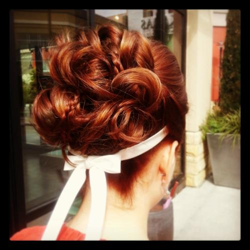 Bridal Updo, Head Band, Dosha