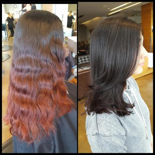 Beautiful Cut Color Dosha Salon Spa
