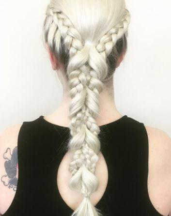 Dosha Master Stylist PDX Experienced Braids Styling Bridal hair Traveling Team On Site
