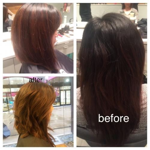 Dosha Salon Spa Before After