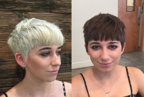 Aveda Color Blonde to Brunette