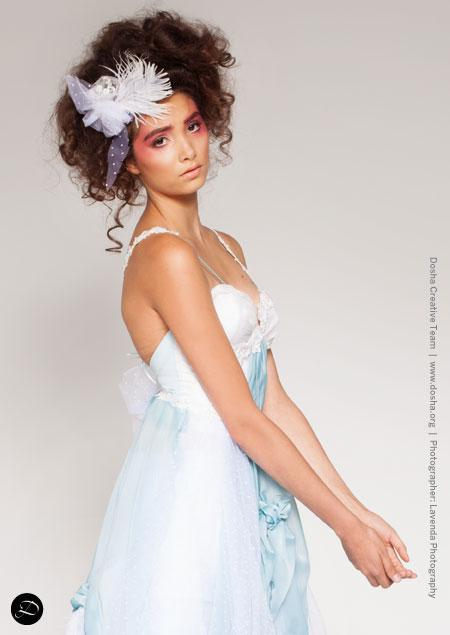PFW Portland Fashion Week Bridal kates couture delicate classic feathers