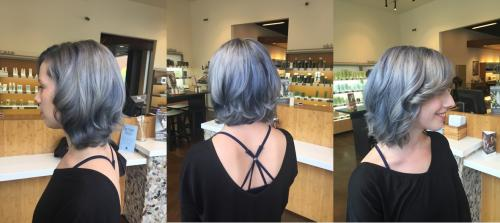 Gray Hair Dosha Salon Spa