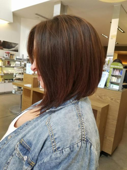 Red A Line Bob Dosha Salon Spa