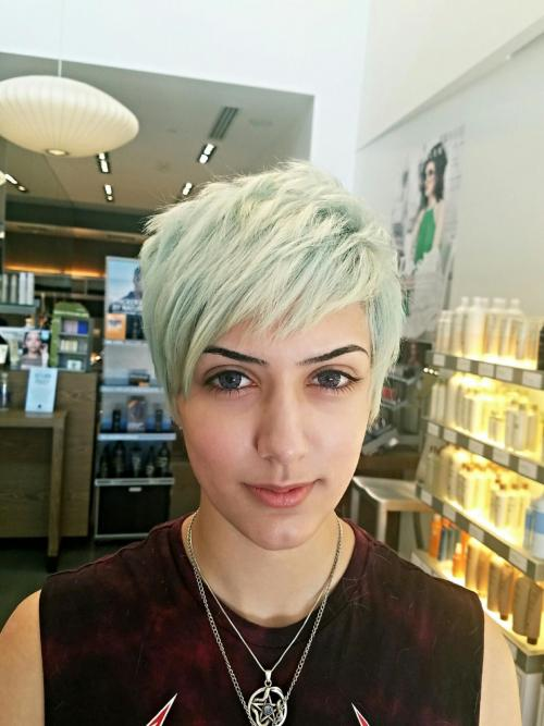 Ice Blue Hair Color Dosha Salon Spa