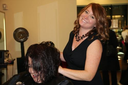 Stylist Working, Dosha salon spa