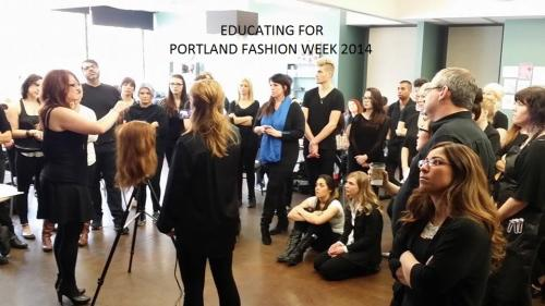 Team prep, Portland Fashion Week 2014