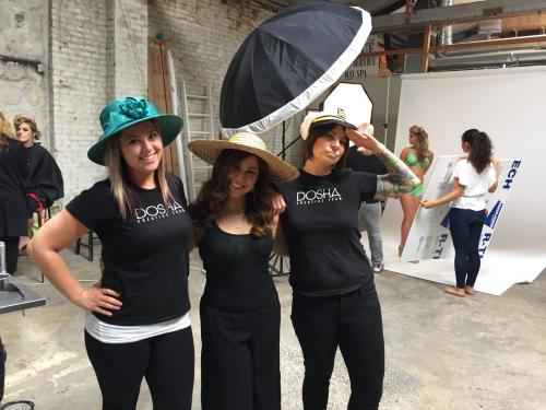 Dosha Stylist, Behind The Scenes, Big Floppy Hats, Studio Ziba
