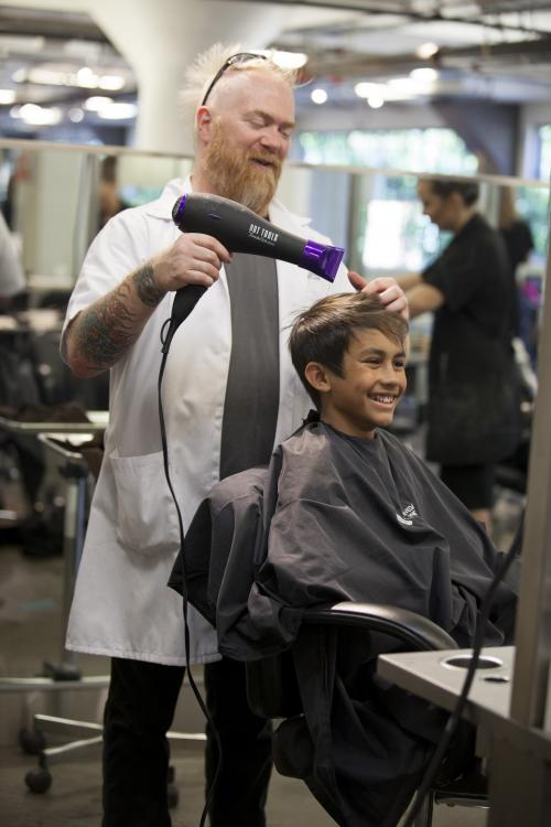 Kids Haircut, Aveda Institute Portland