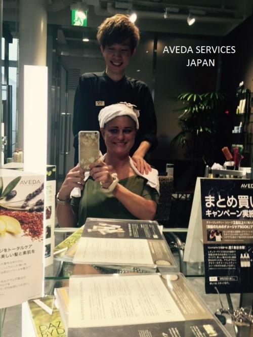 Aveda Services in Japan