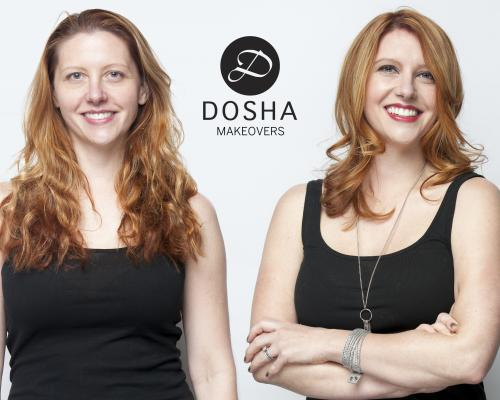 Dosha Creative Team Makeover Phototshoot red