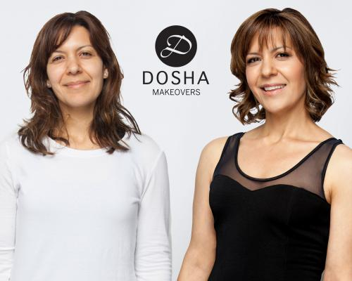 Dosha Creative Team Makeover Phototshoot
