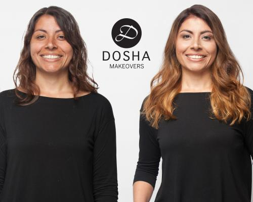 Dosha Creative Team Makeover Phototshoot long layers