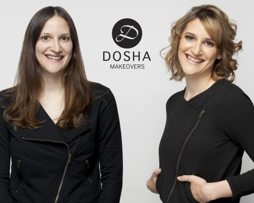 Dosha Creative Team Makeover Phototshoot short curly hair