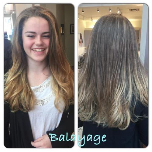Balayage Hair Color, Dosha Salon Spa