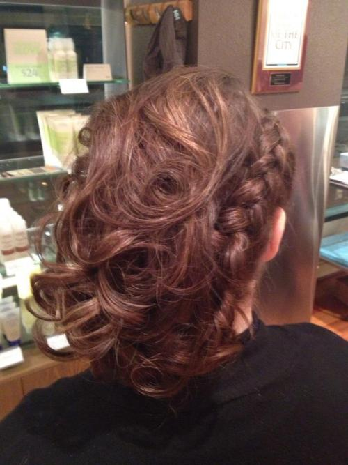 Updo Hairstyling