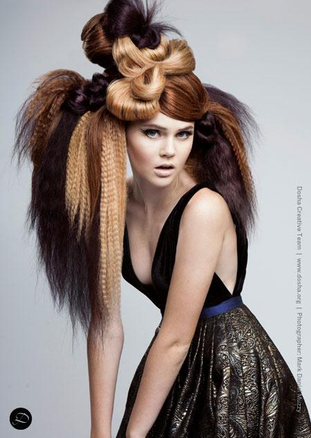 Seattle D-list magazine Lisa Vann extensions avant garde