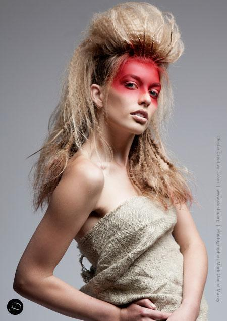 Mykla Anderson Nominated for best New Stylist NWHA Northwest Hairstyling Awards Texture Tribal