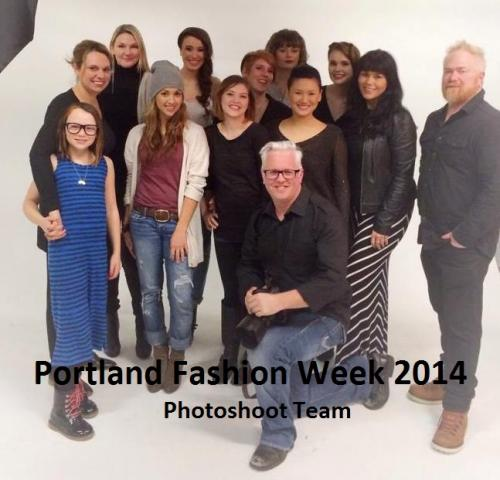 Portland Fashion Week Photoshoot 2014