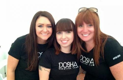 Dosha Stylist, Portland Fashion Week 2014