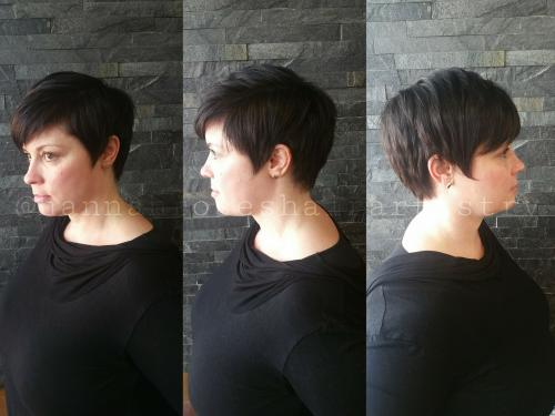 Pixie Haircut Dosha salon Spa
