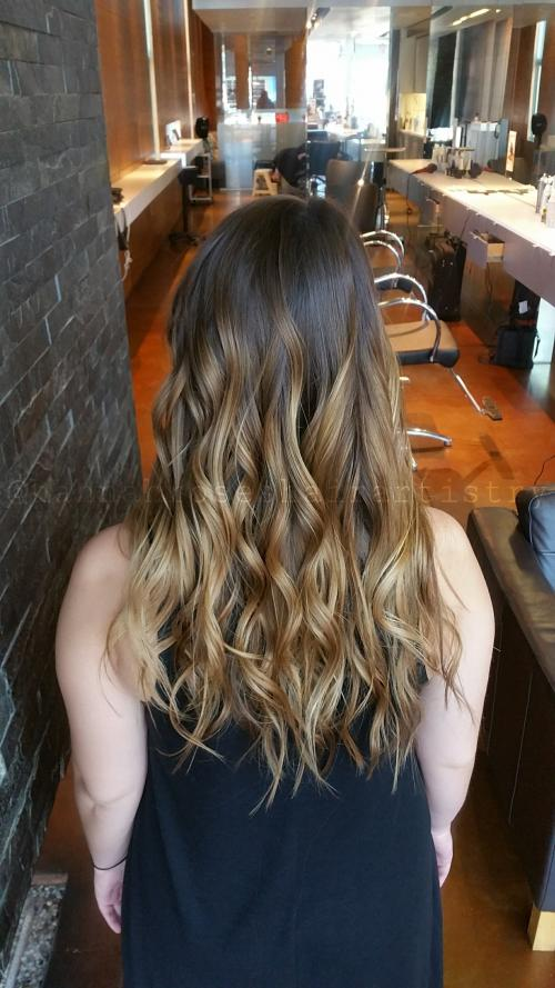 Ombre Color Dosha Salon Spa