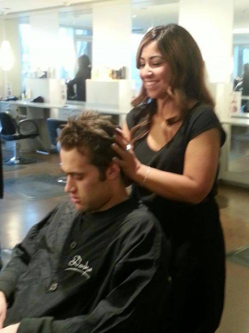 Portland Winterhawk Player, Dosha Salon Spa