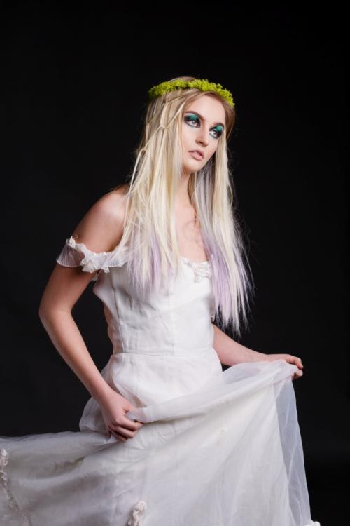woodline, fairy, fairies, avant garde, blonde, volume, ethereal