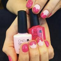 nails, manicure, pedicure, coffee, gel, nail art, pink, shellac, gel, nail polish, paraffin