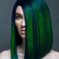 hair color, colorist, specialist, stylist, blue, green, award, northwest hair