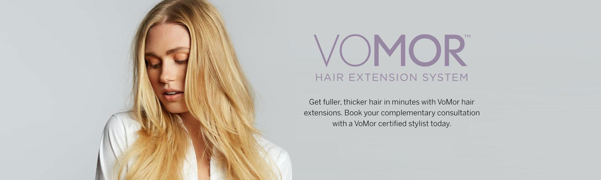 Dosha Salon Spa - VoMor™ Hair Extensions
